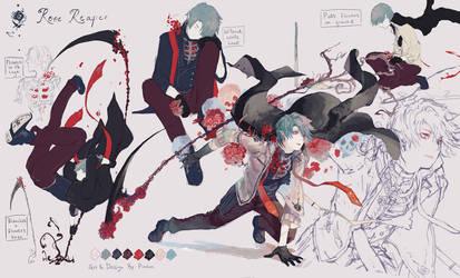 Rose Reaper Adopt [Closed] by Pinlin