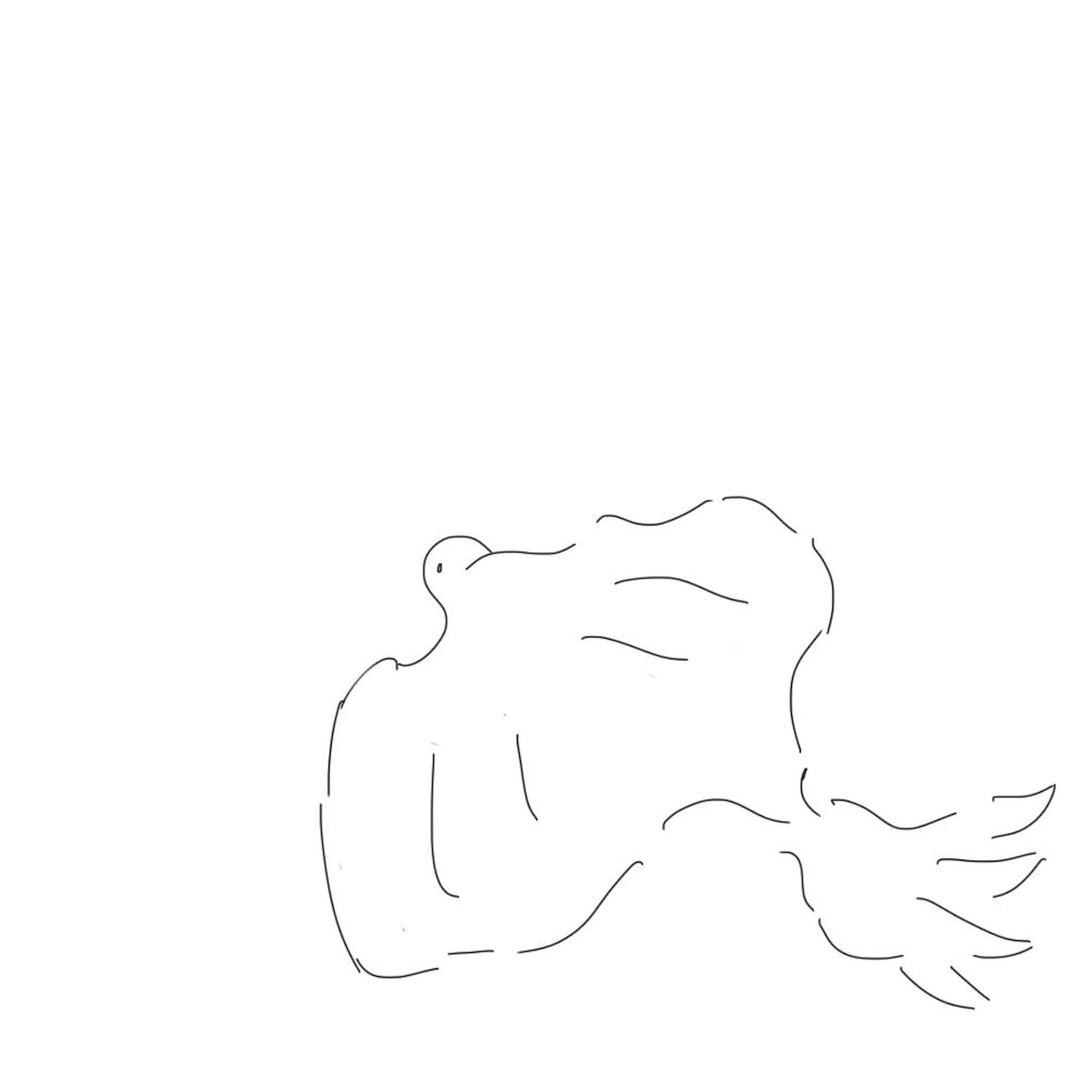 Lone bird by ProgerXP