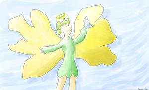 Flower angel by ProgerXP