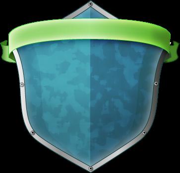 Shield with a ribbon by ProgerXP