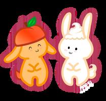 Peaches n Cream by pinkplaidrobot