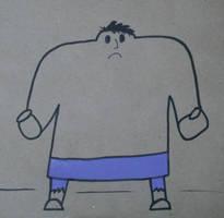Gumdrop Superhero: Hulk by Watyrfall