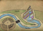 Tiny Realm of Dreusine overall map by Watyrfall