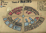 Town of Blessed in Tiny Realm of Dreusine by Watyrfall