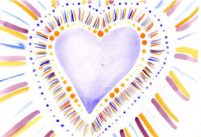 Water Color Heart01 by Watyrfall