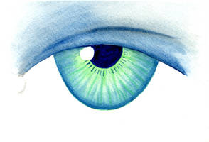 Water Color Eye01 by Watyrfall