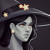 Inktober Paintover by Melitack