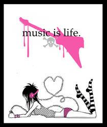 music is life by ptitehooligan