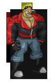 Commander Badass Sprite by MaclimesZero