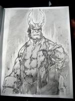 Hellboy-Perlman by a-archer