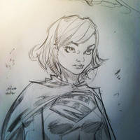 supergirl by a-archer