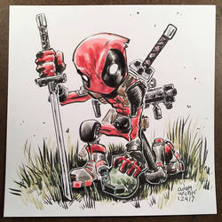 deadpool by a-archer