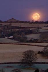 Moonset Sunrise by Alex37