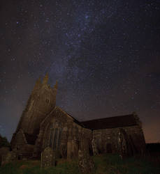 The church and the stars by Alex37
