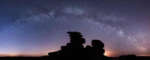 Dartmoor Milky Way by Alex37