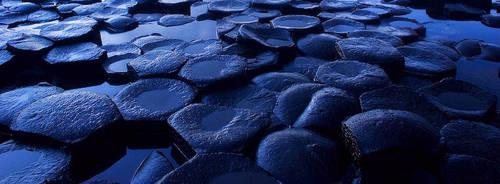 Hexagonal Blue by Alex37