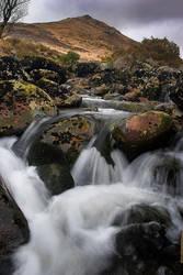Rapids Below Ger Tor II by Alex37