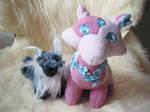 New Fox Friends - Pattern by me by LadyReyna
