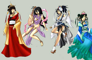 Goddesses by klinanime