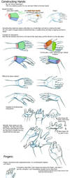 Deconstructing Hands by klinanime