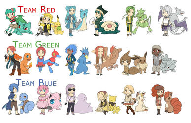 Gijinka: Charactersheet by klinanime