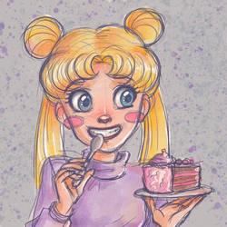 Happy birthday, Usagi! (Italian comic style 2) by Annorelka