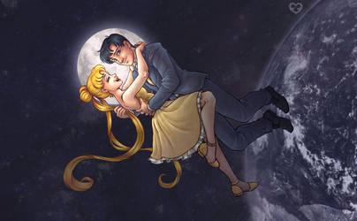 03-08-2018 (Sailor Moon fanart) by Annorelka