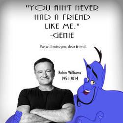 Genie's Tribute to Robin Williams by yugioh1985
