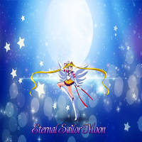 Eternal Sailor Moon's Transformation by yugioh1985