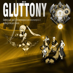 Gluttony, Second of the Deadly Sins by yugioh1985