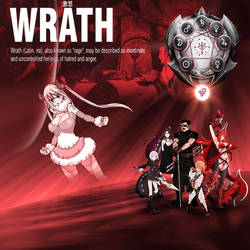 Wrath, Fifth of the Deadly Sins by yugioh1985