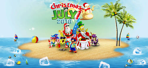 Christmas in July 2018 by yugioh1985
