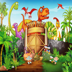Dino Park for Kids by yugioh1985