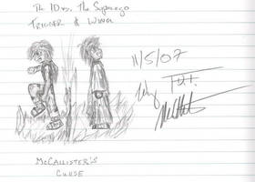 The Id vs. The Superego by WingMcCallister