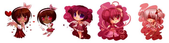 Valentine's Day freebies dump by pekou