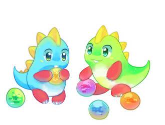 Bubble Bobble by pekou