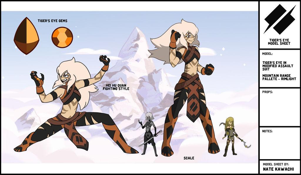 Gem Fusion Tigers Eye By Thegraffitisoul On Deviantart