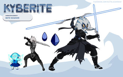 Gem Fusion Kyberite (Star Wars Crossover) by TheGraffitiSoul