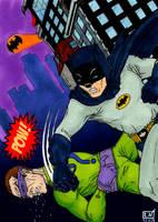Batman 1966 by Nordtoemme