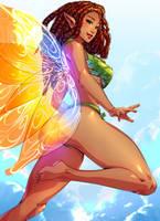 Josara the Fairy-comm by xdtopsu01
