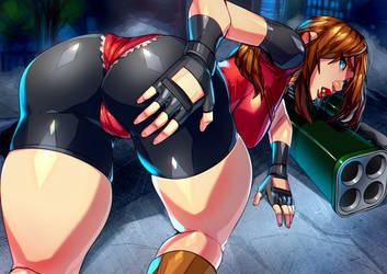 Claire redfield (resident evil) by xdtopsu01