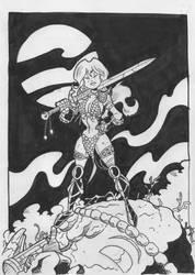 Red Sonja by sergicr