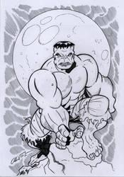 The Hulk by sergicr