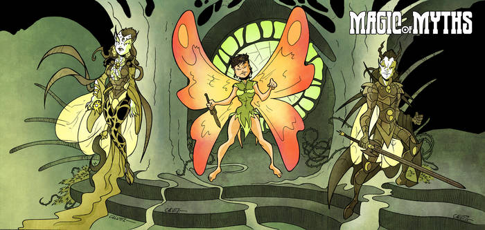 Magic of Myths: Faerie by sergicr