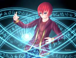 Stellan's Spellcasting by Rysoko