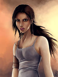And...Lara Croft by joy-ster