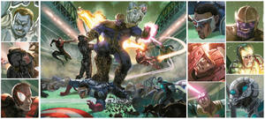 crossover MARVEL-NFL by FabianCobos