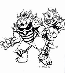 Bowser by Aaron-Frankenfield