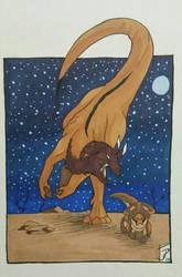 Get over here! by Xenoraptors