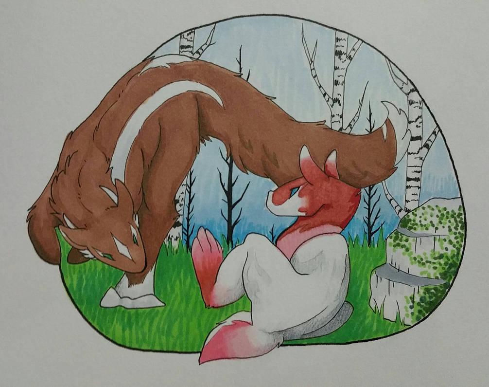 Ku Fight by Xenoraptors